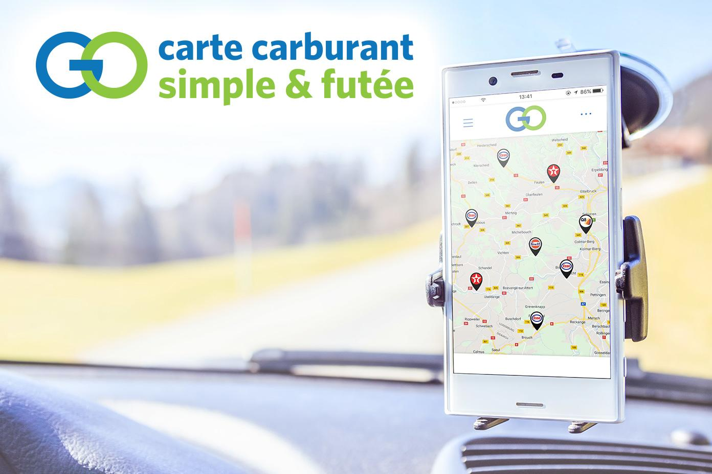 Application carte carburant GO